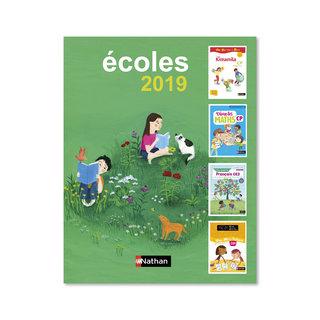 Couverture catalogue Primaire, Nathan Editions