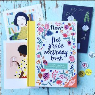 Carte postale pour le magazine Flow