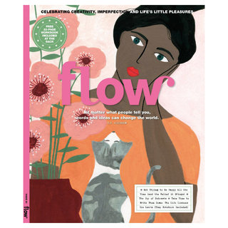Cover for Flow magazine INT