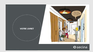 illustration pour un livret d'accueil