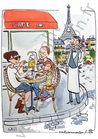 Sara à Paris