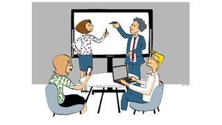 visuel créé pour Gecina et Orange Consulting
