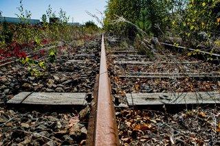 Des rails...