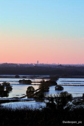 Nantes et les marais