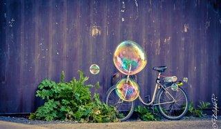 Bicyclette à bulles