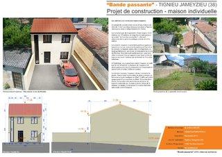 """""""Bande passante"""" - Projet de construction d'une maison de ville"""