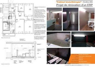 """""""Kinésithérapie"""" - Participation au projet de rénovation d'un cabinet de kinésithérapie"""