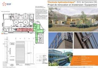 """""""Centrale Hydroelectrique"""" - Participation au projet de rénovation d'une centrale hydroélectrique"""