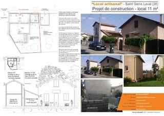 """Local artisanal"" - Projet de construction d'un local artisanal"