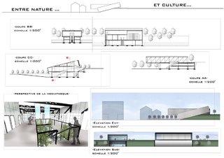 """""""entre nature et culture"""" - Un centre d'art à la Doua - Architecture"""