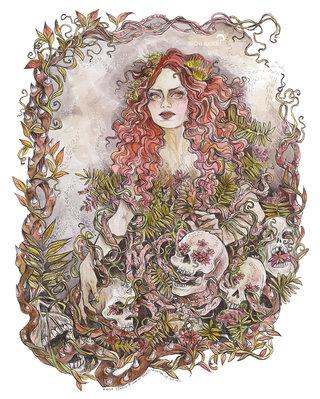 Thorny Plants Witch