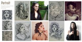 Exemple de portrait
