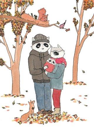 Un petit raton d'automne