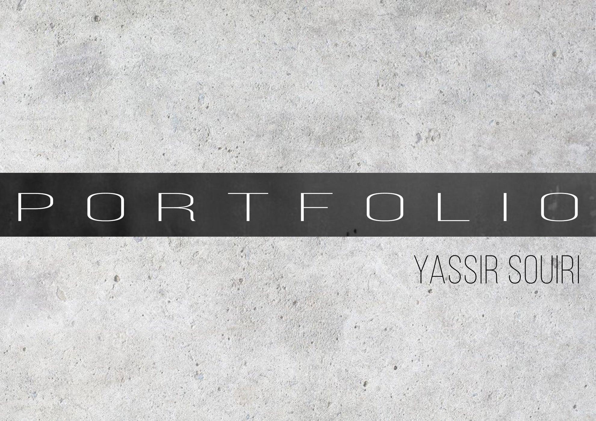 Souiri Yassir Ultra Book Portfolio Portfolio