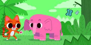 Bonjour l'éléphant